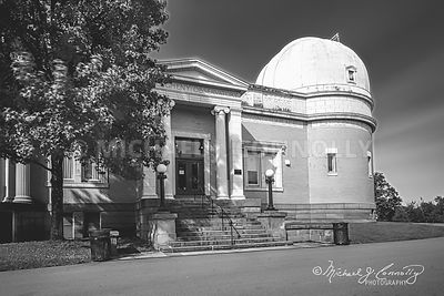 Allegheny Observatory, Main Entrance