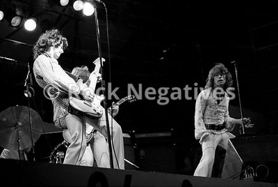 Jimmy Page and Bad Company in NYC, 1974