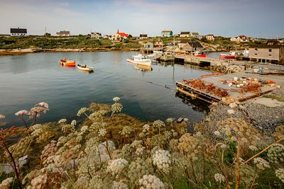 Picturesque old town of Peggy's Cove, Nova Scotia.