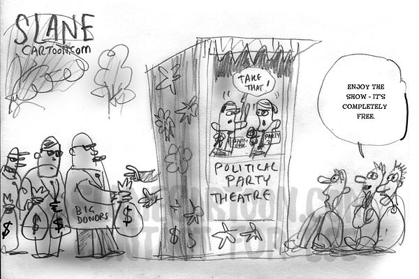 Political Puppet Theatre