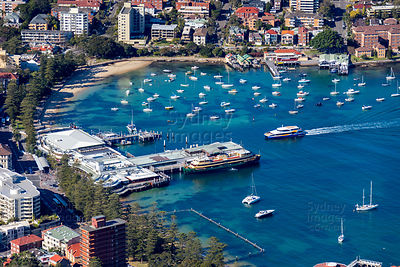 Manly Cove and Ferry Wharf