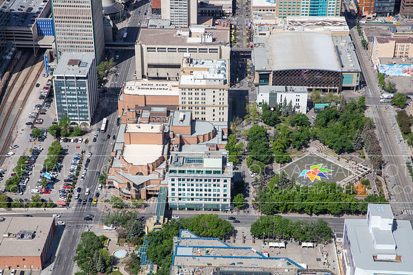 Olympic Plaza, Arts Commons, Stephen Avenue - Calgary