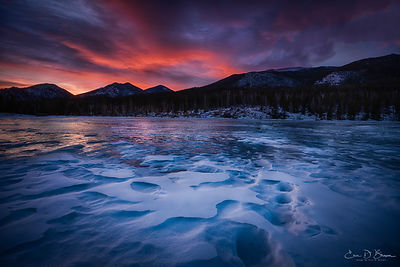 Rocky Mountain Sunrise + Ice5