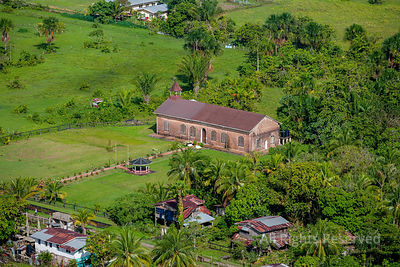 Fort Island and Old Dutch Fort and Court House Guyana