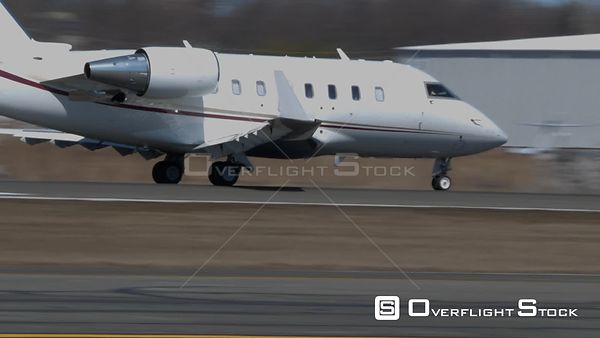 Business Jet Take Off Teterboro Airport