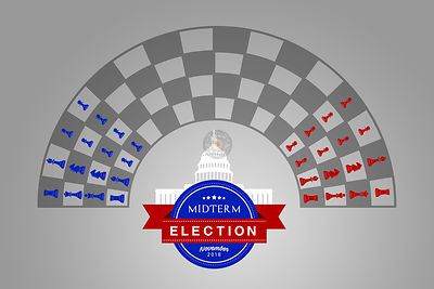 The US Midterm Election Chess Game Begins.