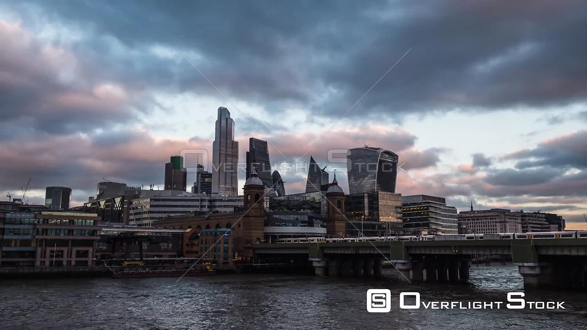 Day to Night Timelapse of London