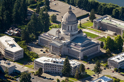 Olympia State Capital Buildings Washington USA