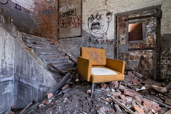 Packard_Plant_Orange_Chair_Stairs