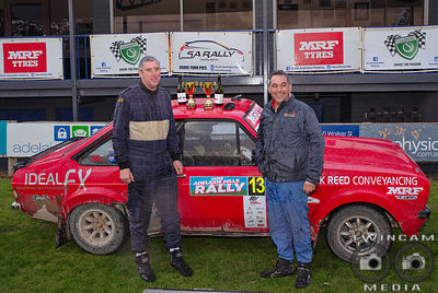Adelaide Rally 2019 Podium