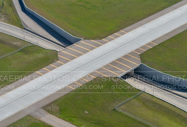 Taxiway over McCall Way NE at Calgary International Airport