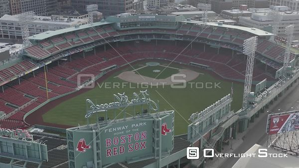 Empty Fenway Park on Opening Day during the COVID-19 Pandemic in Boston, MA, United States (8 of 12)