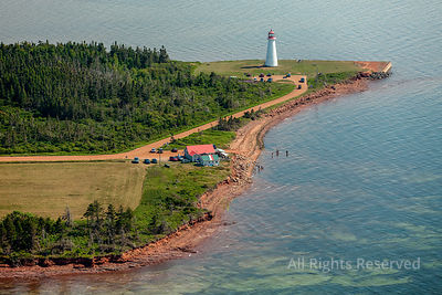 Coastal Lighthouse Belfast Prince Edward Island Canada
