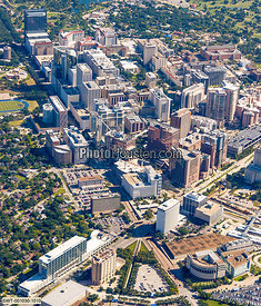 Texas Medical Center aerial photo