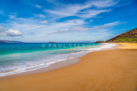 Maui Hawaii Makena Big Beach Photo