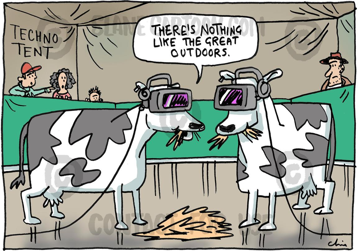 Techno Cows