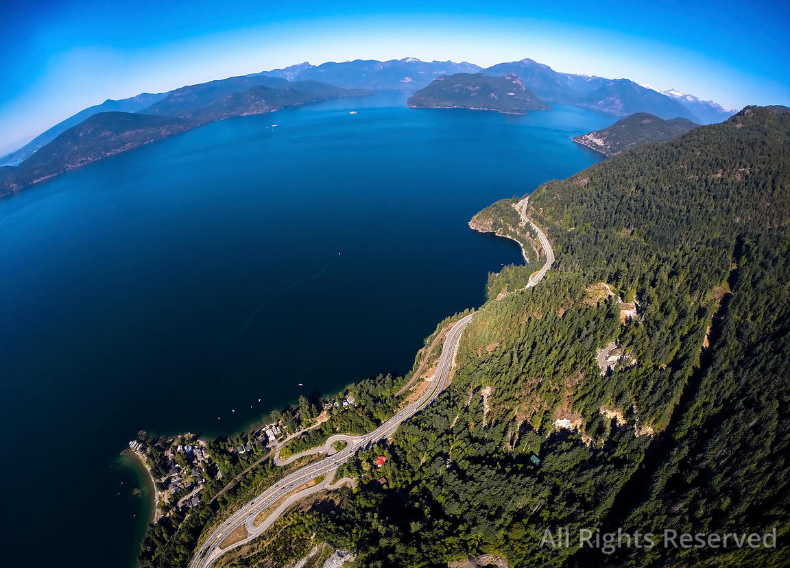Sea to Sky Highway BC Canada