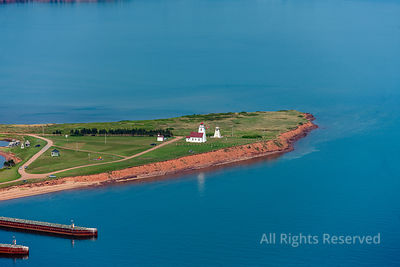 Wood Islands Provincal Park and Lighthouse Prince Edward Island Canada