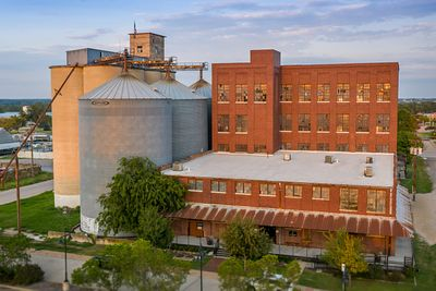 Flour Mill Drone Photo