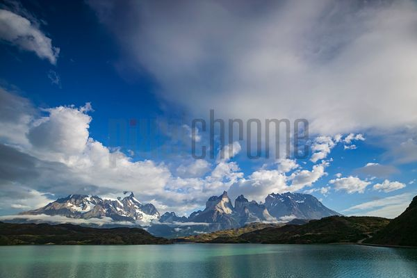 Cuernos del Paine and Lake Pehoe