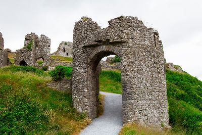 Lower Castle Gate at Dunamase