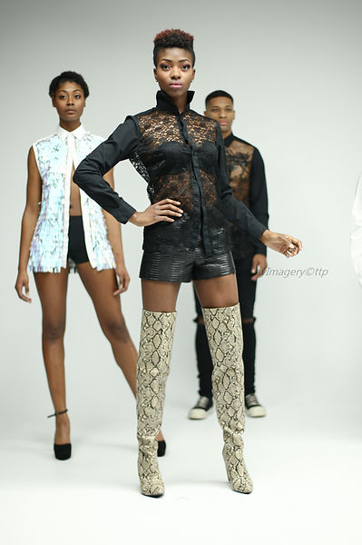 Omari Closet Designs F/W 2020 SmallBoutiqueFW Baza Studios NYC