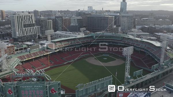 Empty Fenway Park on Opening Day during the COVID-19 Pandemic in Boston, MA, United States (11 of 12)