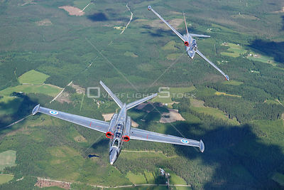Fouga Magister CM.170 Air to Air.
