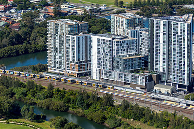 Wolli Creek Aerial Photography