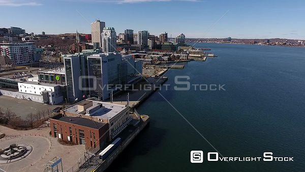 Drone Video Halifax Watefront Nova Scotia