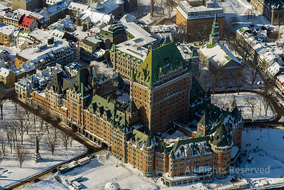 Old Quebec. Quebec Winter Carnival. Quebec City Canada