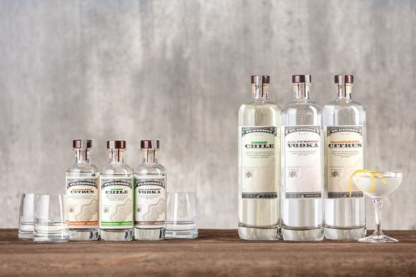 Beverage and spirits photography for St. George Spirits in Alameda, California by Jason Tinacci