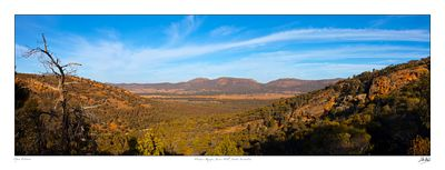 Flinders Ranges from Jarvis Hill