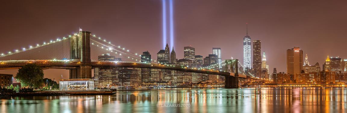 Golden Tribute in Lights