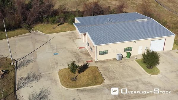 Small Commercial Building with a Metal Roof, Bryan, Texas, USA