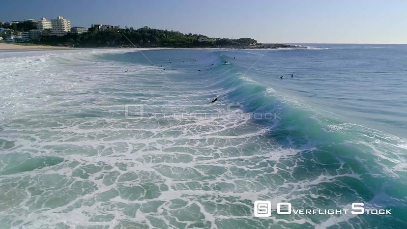 Surfers at Queenscliff Head NSW Australia
