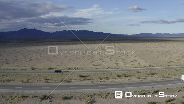 Arizona I10 Freeway Drone Video