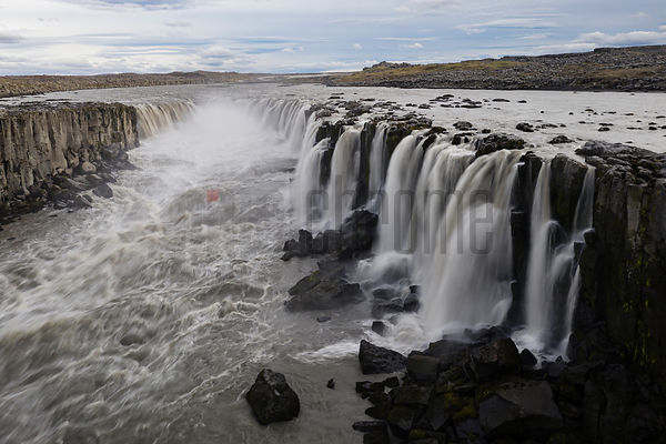 View of Selfoss Looking Upstream