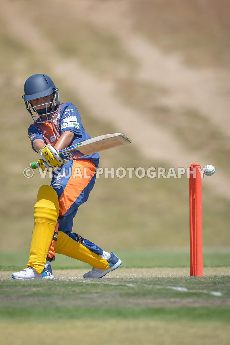 Under 13 - Falcons - Vs - Sixers - Durbanville Cricket Club .