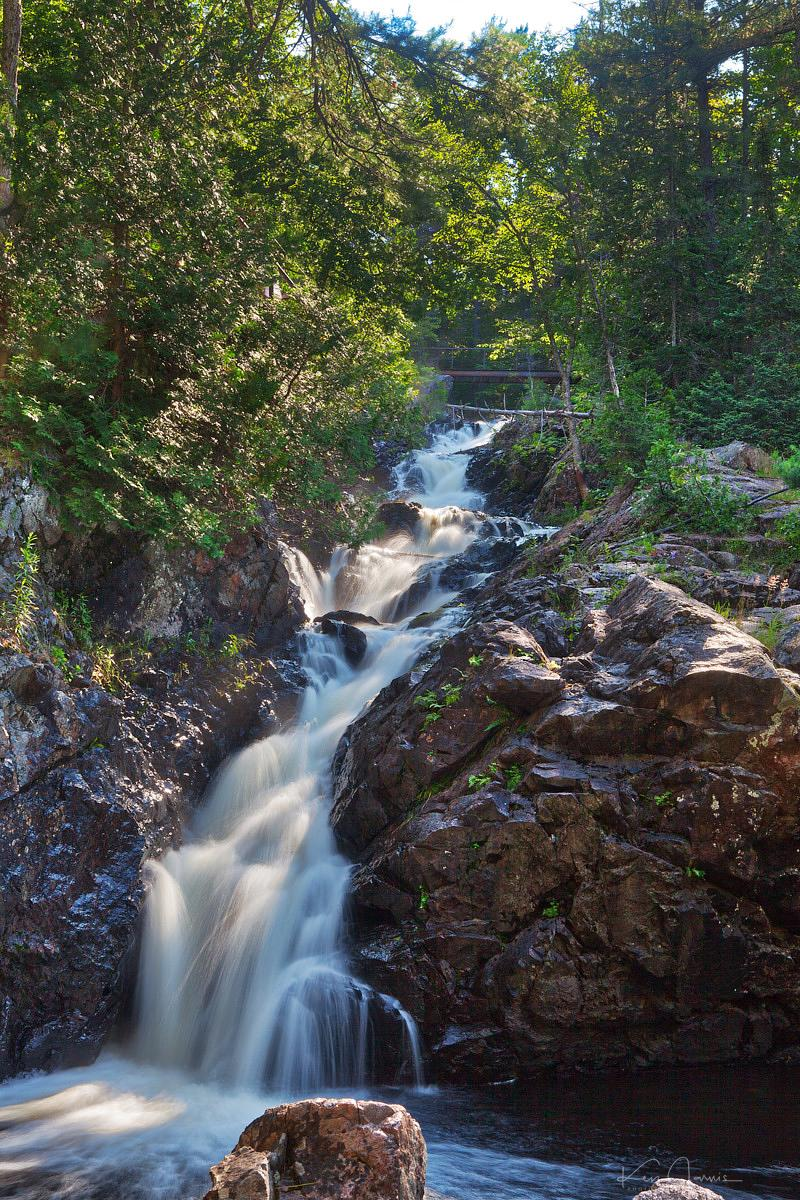 Waterfalls near Sault St. Marie