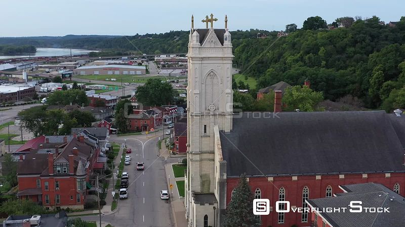 Cathedral of St. Raphael, Dubuque, Iowa, USA