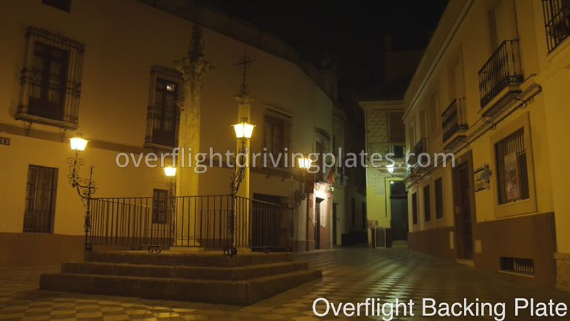 Traditional Street Scene - Seville  Spain - BackingPlate Feb 29, 2020