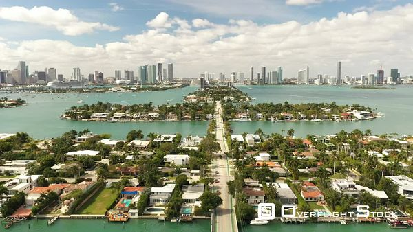 Miami Beach Islands With Luxury Homes