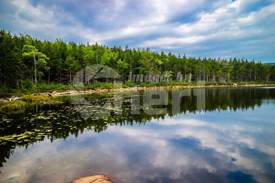 The Bowl Lake in Acadia National Park, Maine