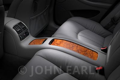 Rear Seat Console Detail