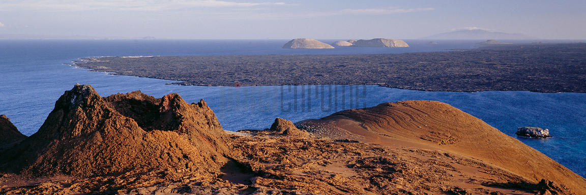 Volcano Craters on Isla Bartolome