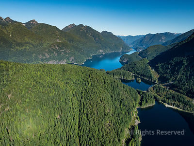 Buntzen Lake Diez Vistas Lookout Indian Arm Port Moody BC