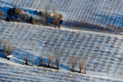 Farm in Winter Quebec Canada