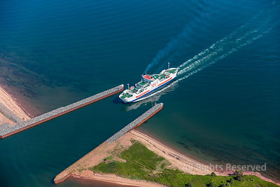 Confederation PEIFERRY  Wood Islands Ferry Terminal Prince Edward Island Canada