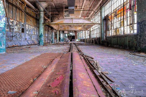 Fisher_Body_Plant_Rusty_Tracks
